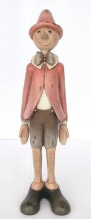 Pinocchio rosa in piedi