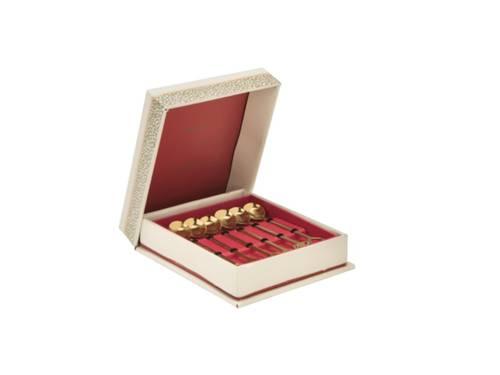 Cucchiaino inox gold Sottobosco 6pz
