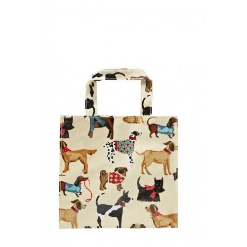Shopping bag cani pvc small