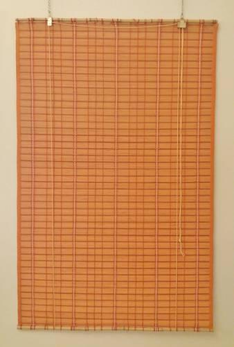 Tenda da sole midollino arancio avvolgibile 100x160h
