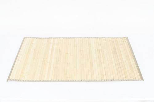 Tappeto bamboo ecru