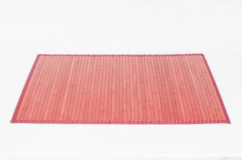 Tappeto bamboo rosso