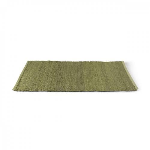 Tappeto canapa verde