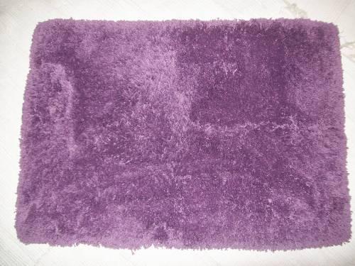 Tappeto frangia viola 60x90