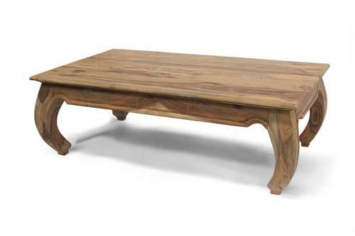 Tavolino salotto oppio legno shisham 120x70