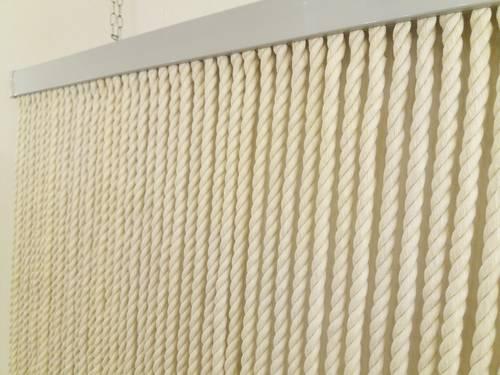Tenda da porta corda cotone naturale 125x240
