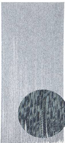 Tenda da porta cordoncino blu