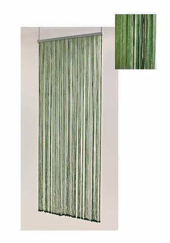Tenda da porta cordoncino verde