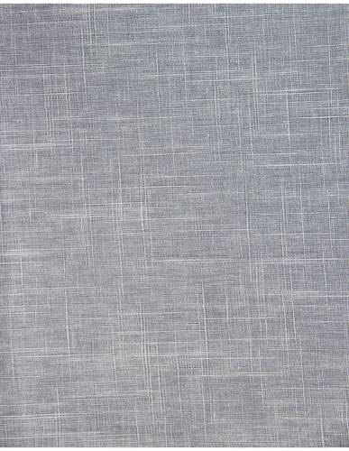 Tovaglia plastificata grigio tinta unita